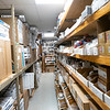 Bill's Heating, INC. tippled the capacity of their parts room during the renovation.