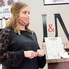 L & M Hair Design stylist Marissa Lehman speaks during an interview Monday morning at L & M Hair Design in Goshen.
