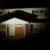 """A """"Biden Harris 2020"""" sign hangs from a home in the 57000 block of Middleton Run Road in Elkhart. The Democratic Party did not have an election watch party due to the rising numbers of COVID-19 cases in Elkhart County."""