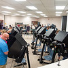 Voters at to the polls Tuesday afternoon at the Elkhart County Public Services Building in Goshen.