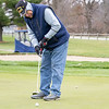 Tom Heffner, of Elkhart, putts the ball after Friday afternoon  at McCormick Creek Golf Course in Nappanee. Temperatures for this weekend are expected to be in the low 50's, but expected to drop to the low 40's on Tuesday.