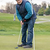 Tom Richmond, of Nappanee, putts a ball Friday afternoon at McCormick Creek Golf Course in Nappanee. Temperatures for this weekend are expected to be in the low 50's, but expected to drop to the low 40's on Tuesday.