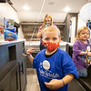 KayJay Spaulding, 4, of Middlebury, looks around his brand new rv built by Dutchman RV Thursday afternoon located at 2164 Caragana Court in Goshen. KayJay was granted his wish granted by Make-A-Wish of Ohio, Kentucky, and Indiana to camp and travel with his family while staying socially distant.