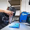Javier Reyes, 16, of Goshen, trains on a augmented arc welder Friday on a project for his manufacturing class at Goshen High School in Goshen.