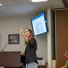Savion Development Director Sara Mills speaks during the Elkhart County Commissioners Meeting Monday at the Elkhart County Administration Building in Goshen.