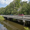Vehicles pass over the Ind. 119 bridge near Shanklin Park in Goshen Tuesday afternoon.