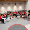 The Goshen Intermediate School Orchestra plays in the main hallway Monday during the GIS open house located at 925 S. Greene Rd.