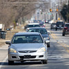 Cars travel west along College Avenue approaching the Ninth Street intersection Tuesday afternoon. Plans to reconstruct the corridor from Ninth Street to U.S. 33 took an initial step forward during Tuesday's Goshen Redevelopment Commission meeting.