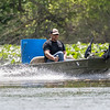 James Troyer, of Benton, rides his jet boat along the Elkhart River Friday afternoon near the Violett Cemetery recreational access in Goshen. The highs for this weekend are projected to be in the mid to upper 80's according the National Weather Service of Northern Indiana website