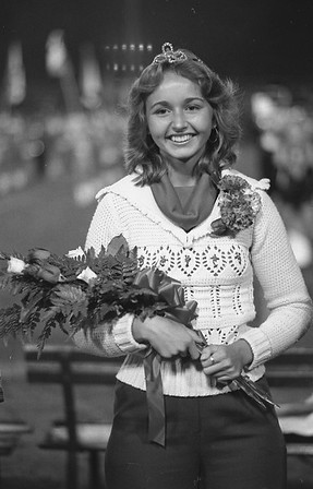 THE GOSHEN NEWS | September 17, 1977<br /> Crowning of homecoming queens was a Friday night feature in special festivities at Goshen and Fairfield High School football games. Mary Dubinin, a senior was selected queen at Goshen. She is the daughter of Mrs. Luba Dubinin. Goshen captured its contest for over 3,000 fans, 7-0 over a tough Bremen team.