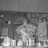 "THE GOSHEN NEWS | JUNE 12, 1987<br /> The annual talent show for New Paris' Sunnyside Park Days kicked off with a hilarious comedy skity titled ""Making A Cake."" New Parisian Becky Zimmerman played the master chef, introducing the approximately 150 audience members in how to create the perfect cake."