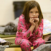 Arizona Wildfires.JPEG-0152.JPG Christyanna Coffman, 10,   of Springerville, Ariz.  sits on a cot at the evacuation center at  at Blue Ridge High School in Lakeside, Ariz.  on Thursday, June 9, 2011.   The American Red Cross set up a shelter at the high school.   Both Hernandez   and Coffman   had to evacuate their homes because of the Wallow Fire.    Several mountain communities have emptied in advance of the fire, and a utility that supplies power to customers in southern New Mexico and west Texas issued warnings of possible power interruptions.  (AP Photo/The Arizona Republic,  David Wallace)