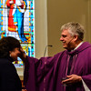 KRISTOPHER RADDER - BRATTLEBORO REFORMER<br /> People head to their local churches for Ash Wednesday service on Wednesday, March 1, 2017.