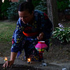 KRISTOPHER RADDER — BRATTLEBORO REFORMER<br /> People participate in the annual Tanabata and Obon event hosted by the Asian Cultural Center of Vermont at Pliny Park, in Brattleboro, on Friday, Aug. 2, 2019.