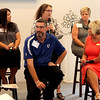 By Jake Thompson | The Lebanon Reporter<br /> Group Discussion: Panelists (back, from left) Sylvia's Child Advocacy Center executive director Cassie Frazier, Humane Society For Boone County director of animal welfare Susan Austin, Boone County Senior Services Anita Bowen, (front, from left) The arc literacy student Allen Flack, and The Arc of Greater Boone County literacy instructor Beth Ridgeway all share how the community foundation has impacted their organizations.