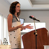Foundation Speaker: Emcee Kate O'Rourke, 2013 Lily Scholar, welcomes the crowd to the morning's program.