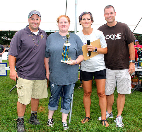 2016 Boone County Cancer Society Battle of the BBQ Best Fundraiser Winner: Boone County Sheriff's Office