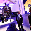 "Ball Aerospace's Dennis Ebbets, Business Development Manager - Astrophysics gives Vonna Heaton Vice President and Lead Executive, Information and Intelligence Solutions, a overview of a model of the James Webb Space Telescope during the Ball Aerospace celebration of opening a new 90,000-square-foot facility expansion at the Ball Aerospace Fisher Integration Facility in Boulder on Friday January 25, 2013.<br /> For more photos go to  <a href=""http://www.dailycamera.com"">http://www.dailycamera.com</a><br /> Photo by Paul Aiken"
