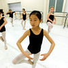 "Joann Kim works through a routine at Ballet Nouveau in Broomfield on Monday December 5, 2011. Ballet Nouveau is one of dozens of Boulder and Broomfield county groups that are recipients of the proceeds of Colorado Gives Day. A number of students in the school receive scholarships from the fund. For more photos of the class go to  <a href=""http://www.dailycamera.com"">http://www.dailycamera.com</a><br /> Photo by Paul Aiken / The Camera"