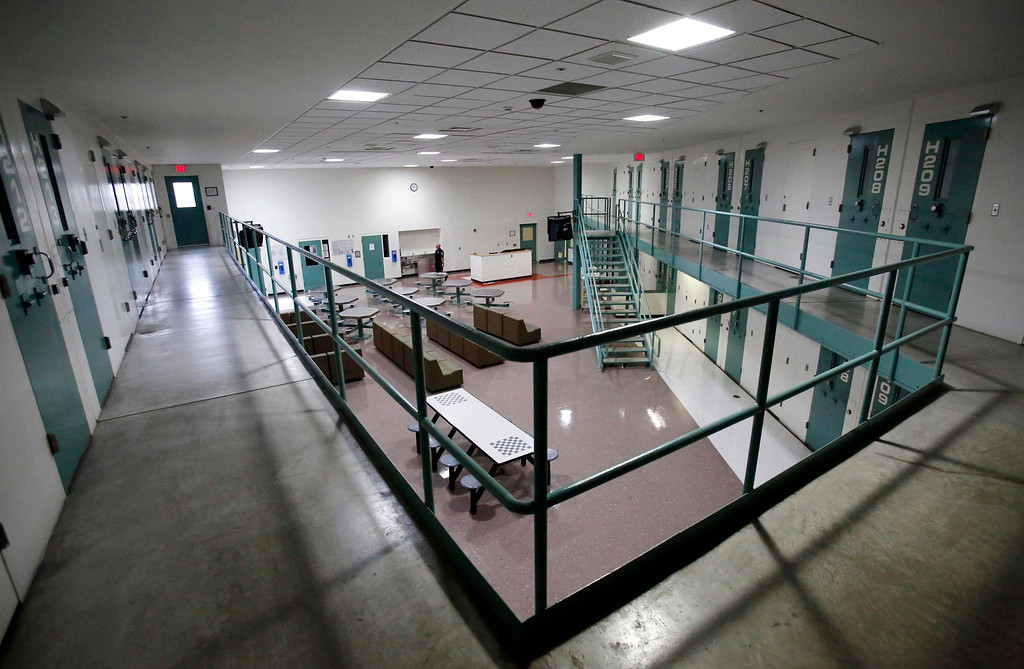 . The H-Pod cell block has been fitted with all LED lighting in the day room and the cells will also be switched to LEDs at the Berkshire County House of Correction. The facility has received a large grant for energy improvement, including a photo voltaic field, a solar thermal array, and LED lighting. Thursday, August 14, 2014. Stephanie Zollshan / Berkshire Eagle Staff / photos.berkshireeagle.com