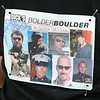 BOLDER<br /> Mieszka Laczek-Johnson, the one millionth finisher of the Bolder Boulder, wears the faces of men she served with in the Army.<br /> PHOTO BY MARTY CAIVANO<br /> May 30,, 1011
