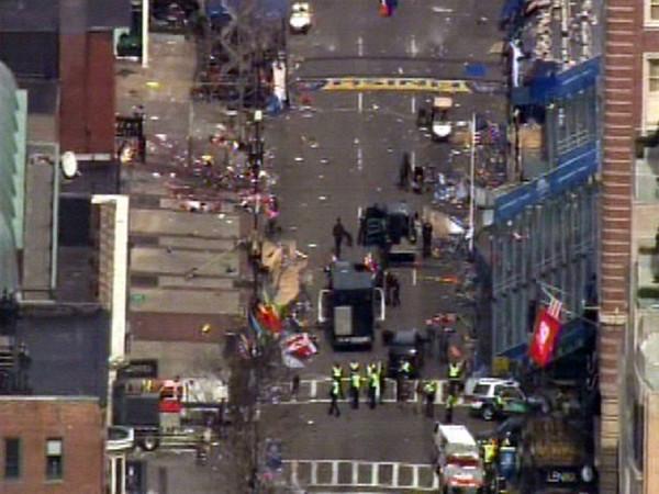 Boston Marathon-Explosions