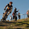 "1030CUP6.jpg Sean Babcock leans into a downhill turn during the Men's Elite race of The Boulder Cup at the Valmont Bike Park in Boulder, Colorado October 30, 2011.  CAMERA/Mark Leffingwell<br /> <br /> Watch video from The Boulder Cup at  <a href=""http://www.dailycamera.com"">http://www.dailycamera.com</a>"