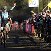 "1030CUP9.jpg Ben Berden celebrates winning the Men's Elite race of The Boulder Cup at the Valmont Bike Park in Boulder, Colorado October 30, 2011.  CAMERA/Mark Leffingwell<br /> <br /> <br /> Watch video from The Boulder Cup at  <a href=""http://www.dailycamera.com"">http://www.dailycamera.com</a>"
