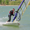 Pierce Martin of Boulder wind surfs on Boulder Reservoir Tuesday. Photo By Nick Oxford The Daily Camera June 7, 2011.