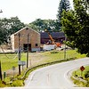 BEN GARVER — THE BERKSHIRE EAGLE<br /> Donna Hanson and her  husband, Christian, the co-owners of Balderdash Cellars of Pittsfield, are planning to expand their winery in Richmond on Route 41. Chris May Builders out of West Stockbridge are the general contractors.