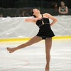Abby Coleman, of Williamstown, performs during the Bay State Figure Skating Show. The show opened the Bay State Winter Games on Saturday, Jan. 28, 2017, at Williams College's Lansing Chapman Ice Rink.<br /> John Starsja, Special to The Berkshire Eagle