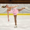 Ayla Senecal, of Hoosick Falls, NY, performs during the show. The Bay State Figure Skating Show. The show opened the Bay State Winter Games on Saturday, Jan. 28, 2017, at Williams College's Lansing Chapman Ice Rink.<br /> John Starsja, Special to The Berkshire Eagle