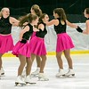 Members of the Christmas Brook Figure Skating Club perform prior to intermission. The show opened the Bay State Winter Games on Saturday, Jan. 28, 2017, at Williams College's Lansing Chapman Ice Rink.<br /> John Starsja, Special to The Berkshire Eagle