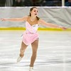 Ayla Senecal, of Hoosick Falls, NY, performs during the Bay State Figure Skating Show. The show opened the Bay State Winter Games on Saturday, January 28, 2017, at Williams College's Lansing Chapman Ice Rink.<br /> John Starsja, Special to The Berkshire Eagle