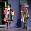 F0210BEAST5.jpg F0210BEAST5<br /> L-R, Thomas Roller, as Cogsworth, and Jach Thompson, as Maurice,  during a rehearsal of Legacy High School's production of Beauty And The Beast, on Wednesday evening, February 6th, 2013.<br /> <br /> Photo by: Jonathan Castner