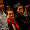 KRISTOPHER RADDER - BRATTLEBORO REFORMER <br /> Fifty-four people from different parts of the world gather at Landmark College, in Putney, Vt., to become American citizens during a naturalization ceremony on Thursday, Feb. 8, 2018.