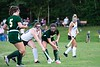 Gwen McGrath fights for the ball during Wednesday's game against Windsor; KELLY FLETCHER, REFORMER CORRESPONDENT