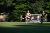 Maya Waryas looks ahead as she brings the ball down the field; KELLY FLETCHER, REFORMER CORRESPONDENT