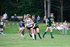 Ashlynn Boucher is challenged by Windsor as she pushes the ball down the field; KELLY FLETCHER, REFORMER CORRESPONDENT