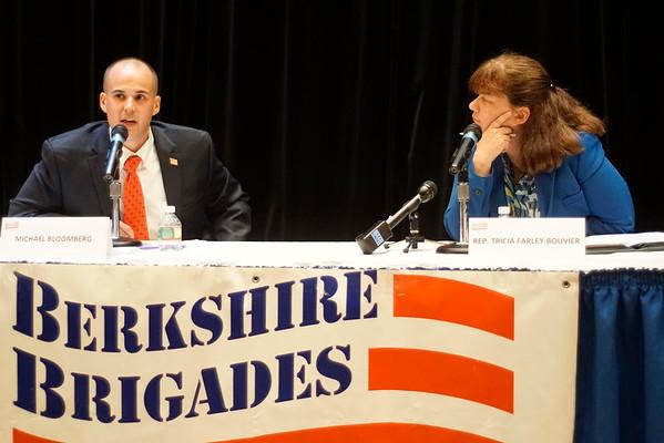 Berkshire Brigades host candidates debate - 081116