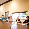BEN GARVER — THE BERKSHIRE EAGLE<br /> The Berkshire County Grandparents who Raise Grandchildren meet at the First United Methodist Church in Pittsfield, Monday July 24, 2017.