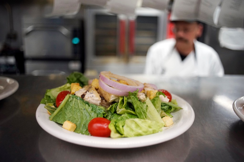 . Meals at Berkshire Medical Center are now prepared to order, roomservice style, as opposed to institutional cooking one might expectfrom a hospital. Thursday, August 2, 2016. Ben Garver � The Berkshire Eagle | photos.berkshireeagle.com