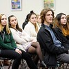 BEN GARVER — THE BERKSHIRE EAGLE<br /> 13 youth leaders from Berkshire schools met in Pittsfield City Hall for the 1Berkshire Youth Leadership Program to talk about government, Tuesday January 8, 2019.  Future sessions will focus on finance, hospitality and the creative economy.