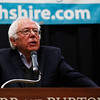 U.S. Sen. Bernie Sanders talks about some sobering topics on Tuesday afternoon at the Riley Center at Burr and Burton Academy in Manchester.<br /> Holly Pelczynski - Bennington Banner