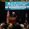 "U.S. Sen. Bernie Sanders speaks to a full house on Tuesday afternoon  about his book ""Our Revolution: A Future to Believe in,"" at the Riley Center at Burr and Burton Academy in Manchester. <br /> Holly Pelczynski - Bennington Banner"