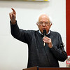 Holly Pelczynski - Bennington Banner Senator Bernie Sanders adresses the citizens of Bennington during a rally held for local democratic candidates.