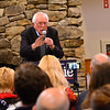 KRISTOPHER RADDER — BRATTLEBORO REFORMER<br /> Democratic presidential candidate Sen. Bernie Sanders, I-Vt., holds a rally at Stonewall Farm, in Keene, N.H., on Sunday, Dec. 22, 2019.