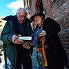 KRISTOPHER RADDER - BRATTLEBORO REFORMER<br /> U.S. Senator Bernie Sanders signs a copy of his book for Cheryl Clickstein after leaving the Latchis Theatre, in Brattleboro, Vt., on Thursday, March 16, 2017.