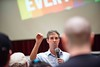 KELLY FLETCHER, REFORMER CORRESPONDENT -- Beto O'Rourke answers questions during a Town Hall event at Keene State College on Friday, September 6th.  Rougly 250 people were in attendance.