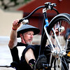 "Al Brody cruises on his low rider Big Wheel on Saturday, July 9, during the Big Wheel Rally in Boulder. For more photos and video go to  <a href=""http://www.dailycamera.com"">http://www.dailycamera.com</a><br /> Jeremy Papasso/ Camera"
